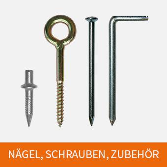 Nägel, Schrauben, Zubehör